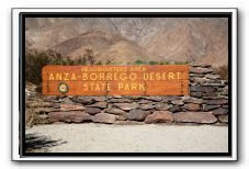 Anza Borrego State Park and Julian Fire